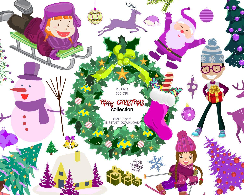 December clipart thank you, December