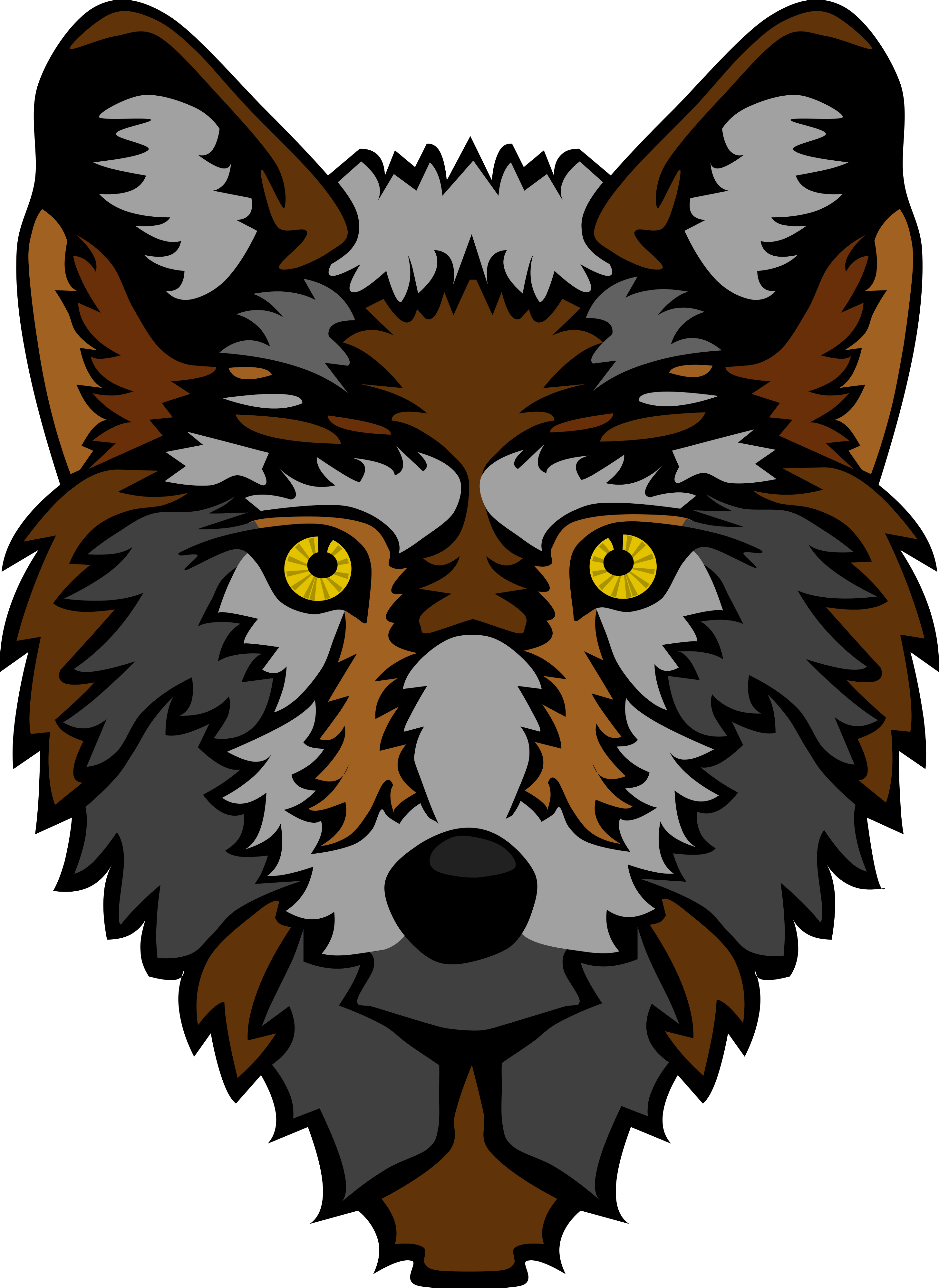 Purple clipart wolf. About werewolves many interesting
