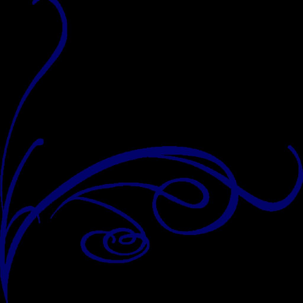 lines clipart blue