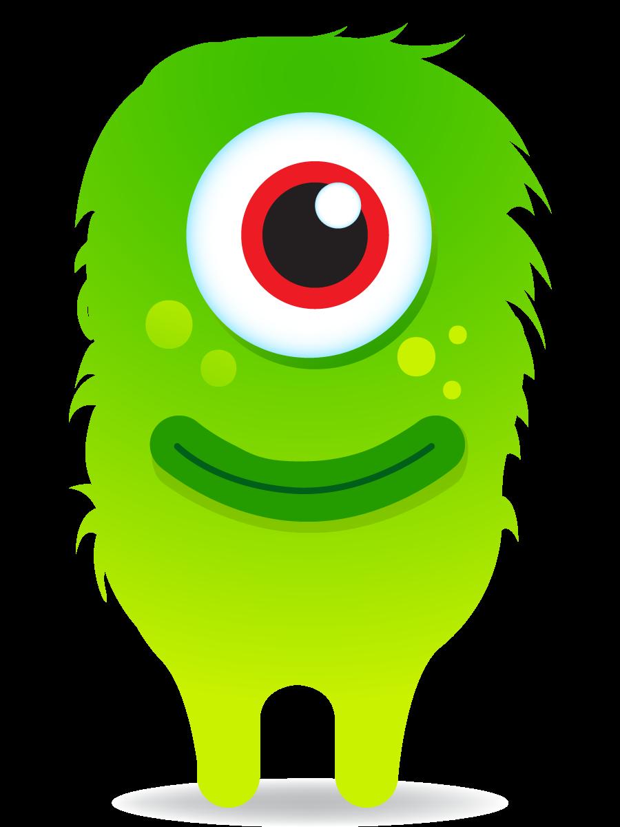 Pin by krysta on. Monster clipart kindergarten