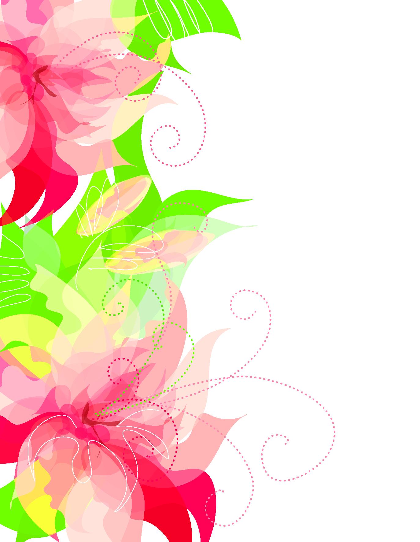 Cute floral decoration transparent. Flamingo clipart floaty