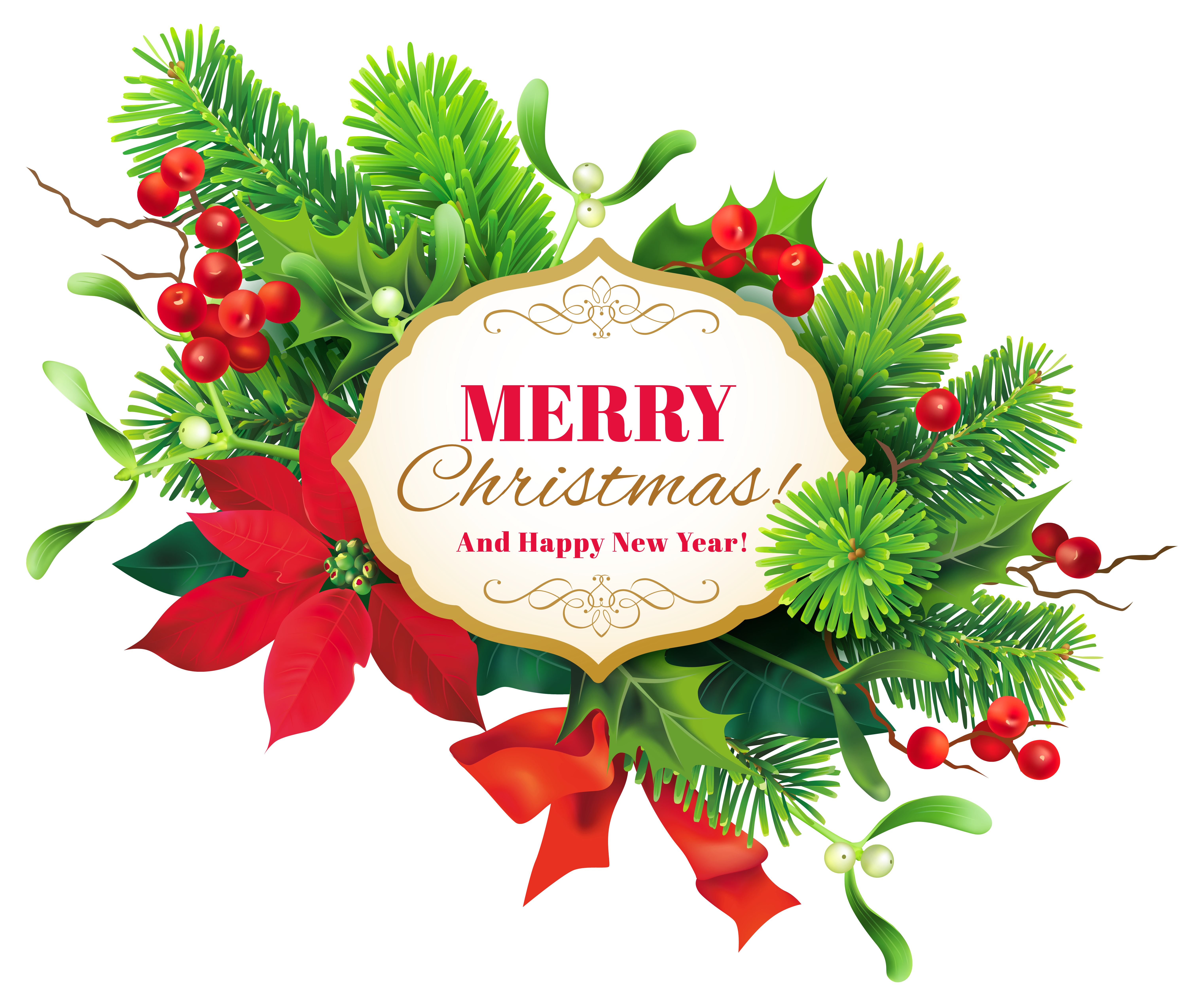 Merry christmas png images. Decor clipart image gallery