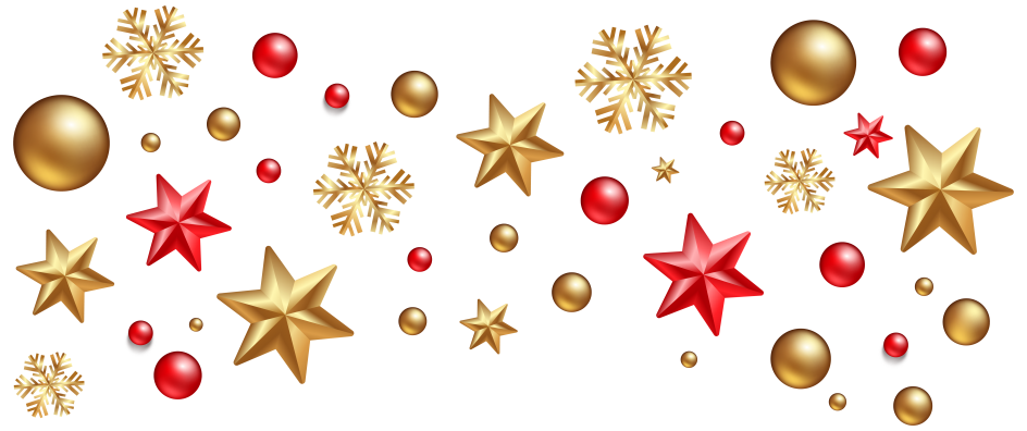 Endearing christmas decorations decoration. Gold clipart xmas