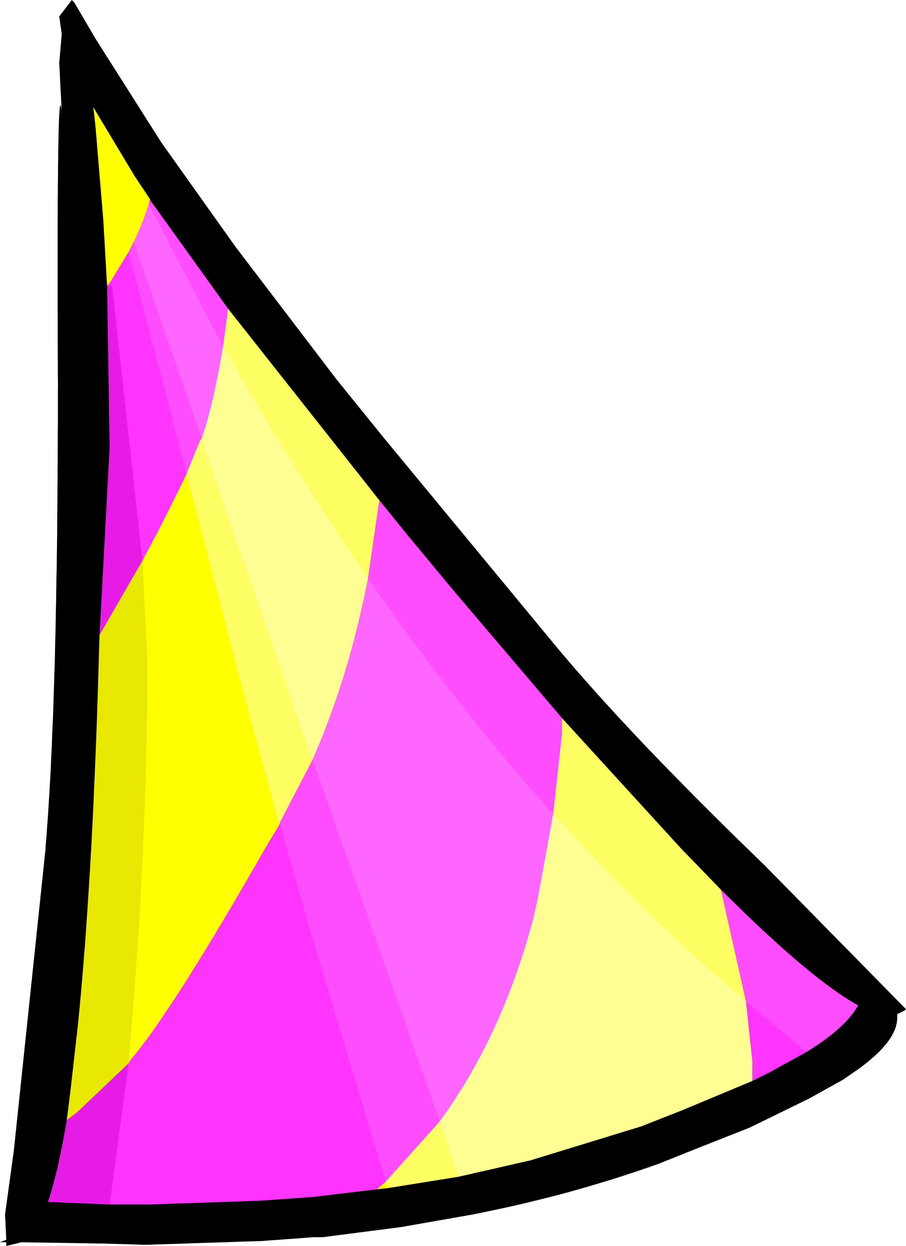 Shell clipart triangle object. Beta test party club