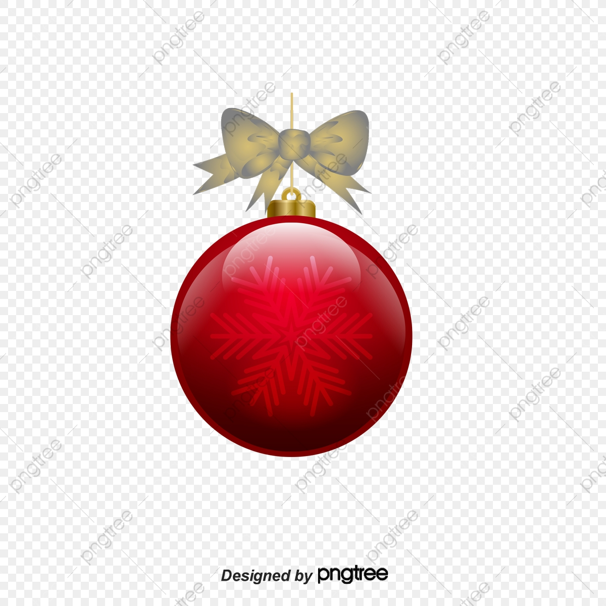 Ornaments clipart bow clipart. Red christmas ornament decorative