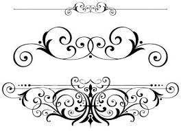 Pin on designs patterns. Scroll clipart vector