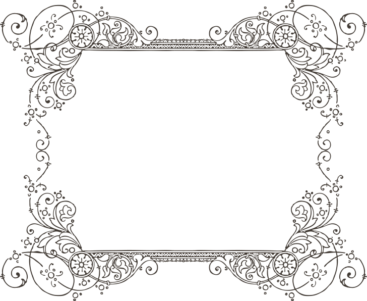 Decoration clipart word. Decorative backgrounds for documents