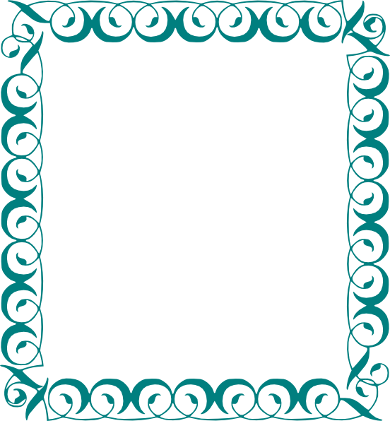 Decoration clipart word. Decorative page borders in