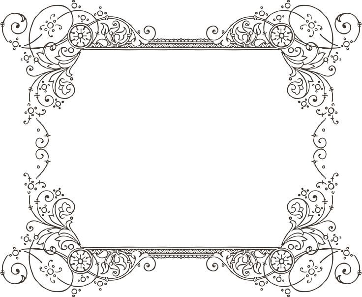 Decorative backgrounds for documents. Decoration clipart word
