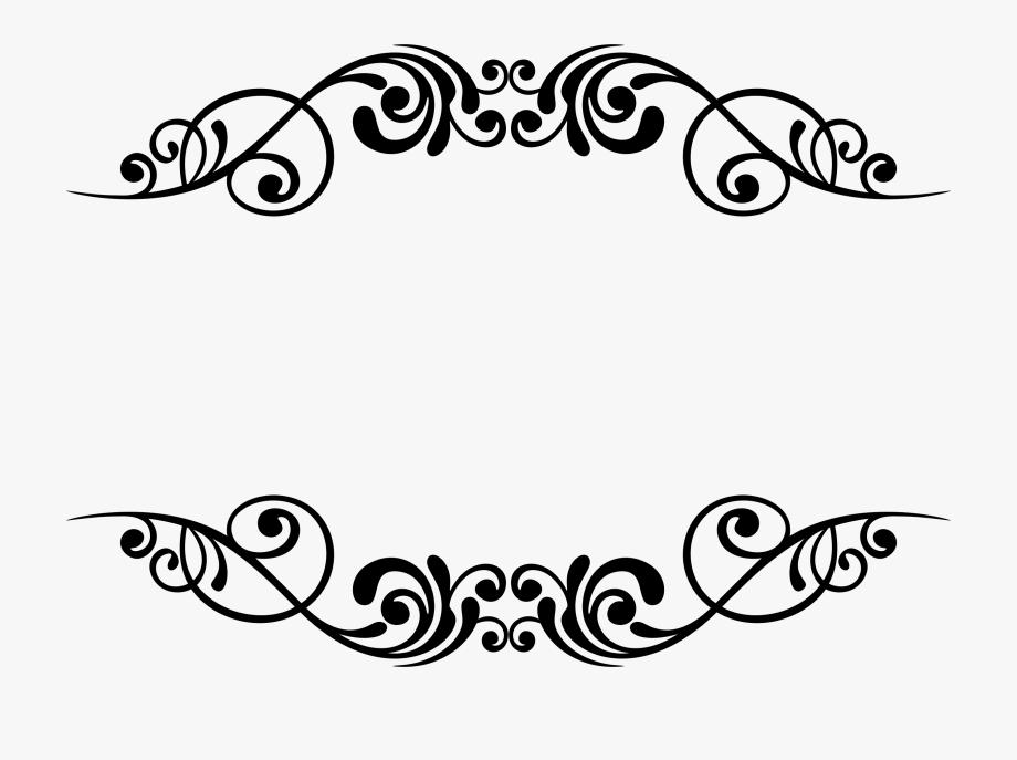 Clipart borders decoration. Decorative stencil designs arts