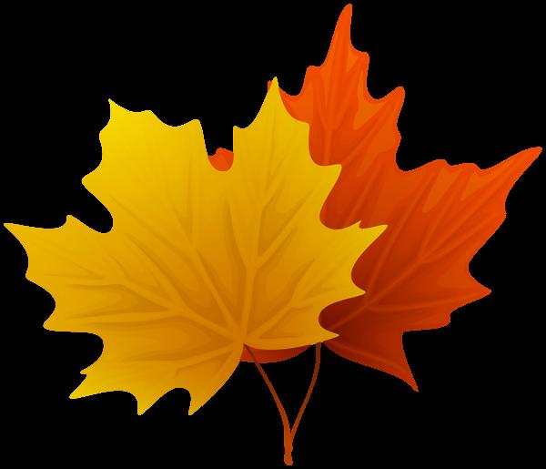 Decorative fall leaves