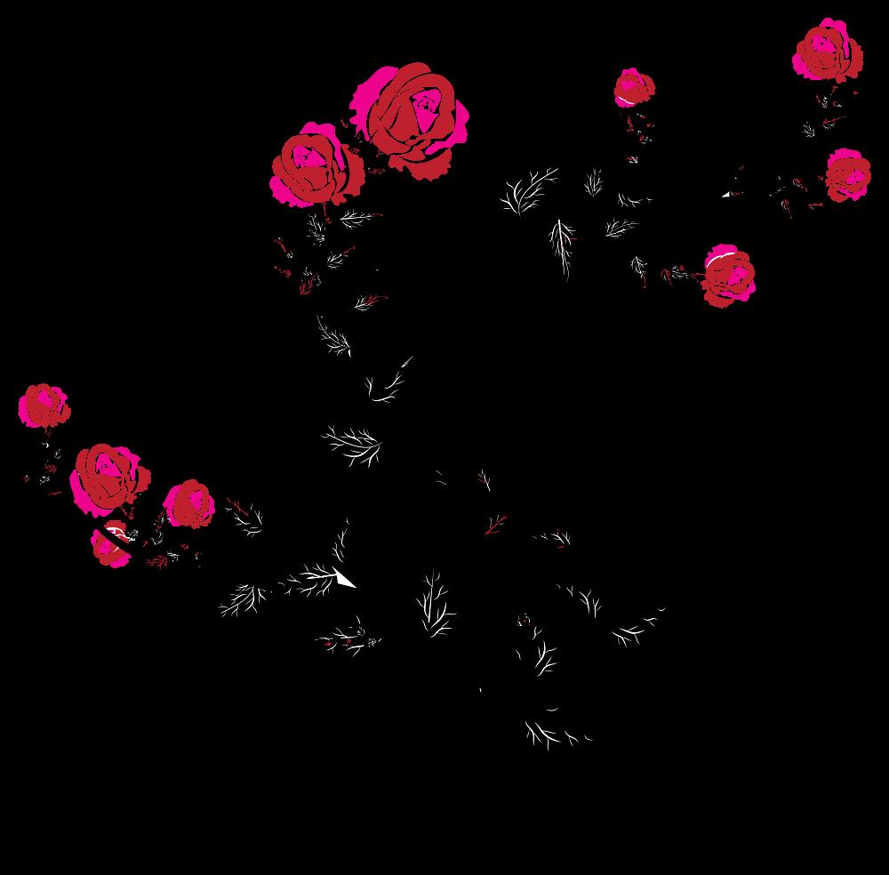 Flourish clipart flower decoration. Onlinelabels clip art rose