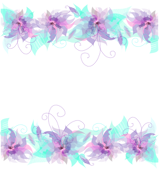 Gallery elements png . Decorative clipart purple