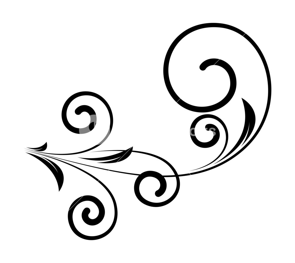 Swirl clipart decorative, Swirl decorative Transparent ...