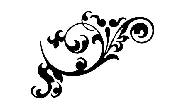 Flourish . Decorative clipart