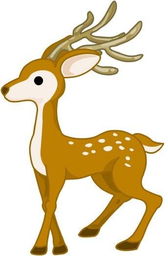 Clip art for kids. Deer clipart