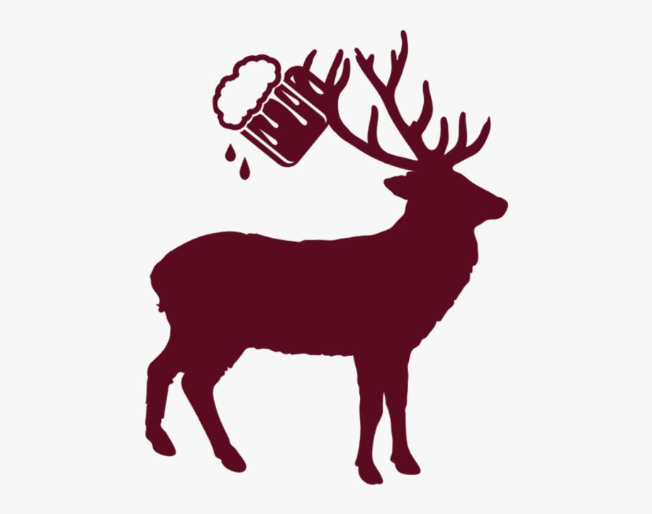 Deer clipart drinking. Beer barrel octoberfest alc