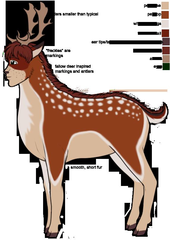 Deer clipart fallow deer. Concept the endless forest