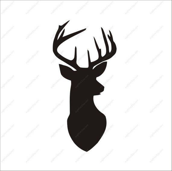 Deer clipart file. Svg ai dxf eps