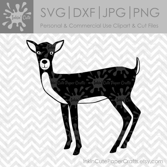 Deer clipart file. Svg clip art woodland