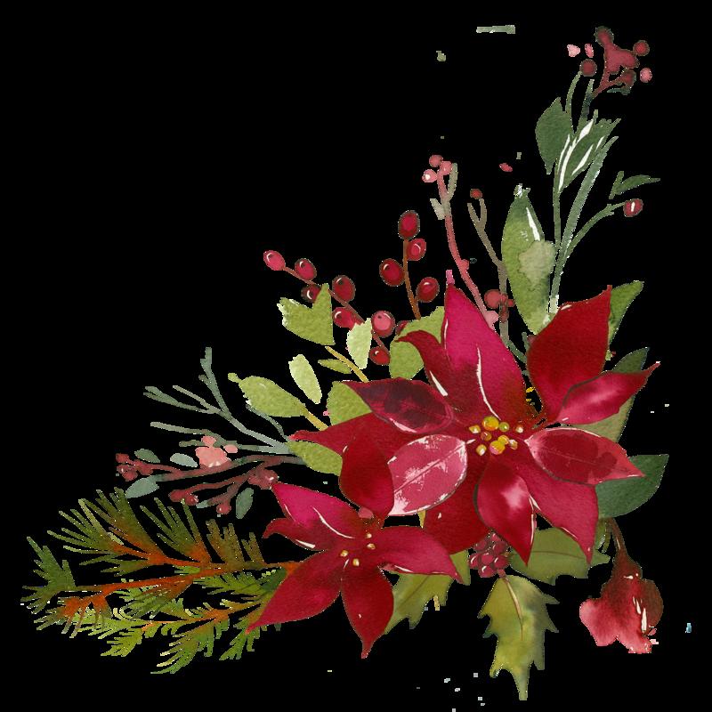 Bouquet png pinterest poinsettia. Flourish clipart silver flower