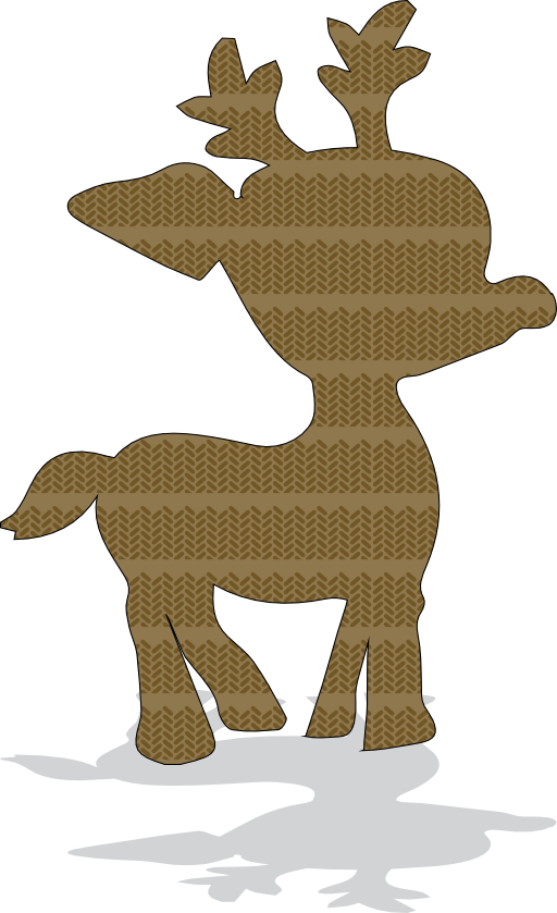 Deer icon i royalty. Hunting clipart gazelle