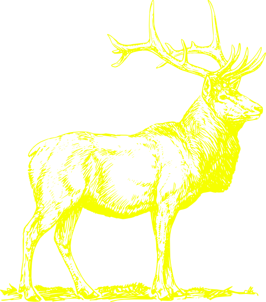 Stag baste clip art. Deer clipart golden deer