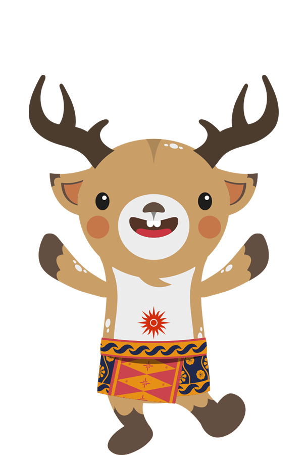 Mascots atung. Games clipart reindeer game
