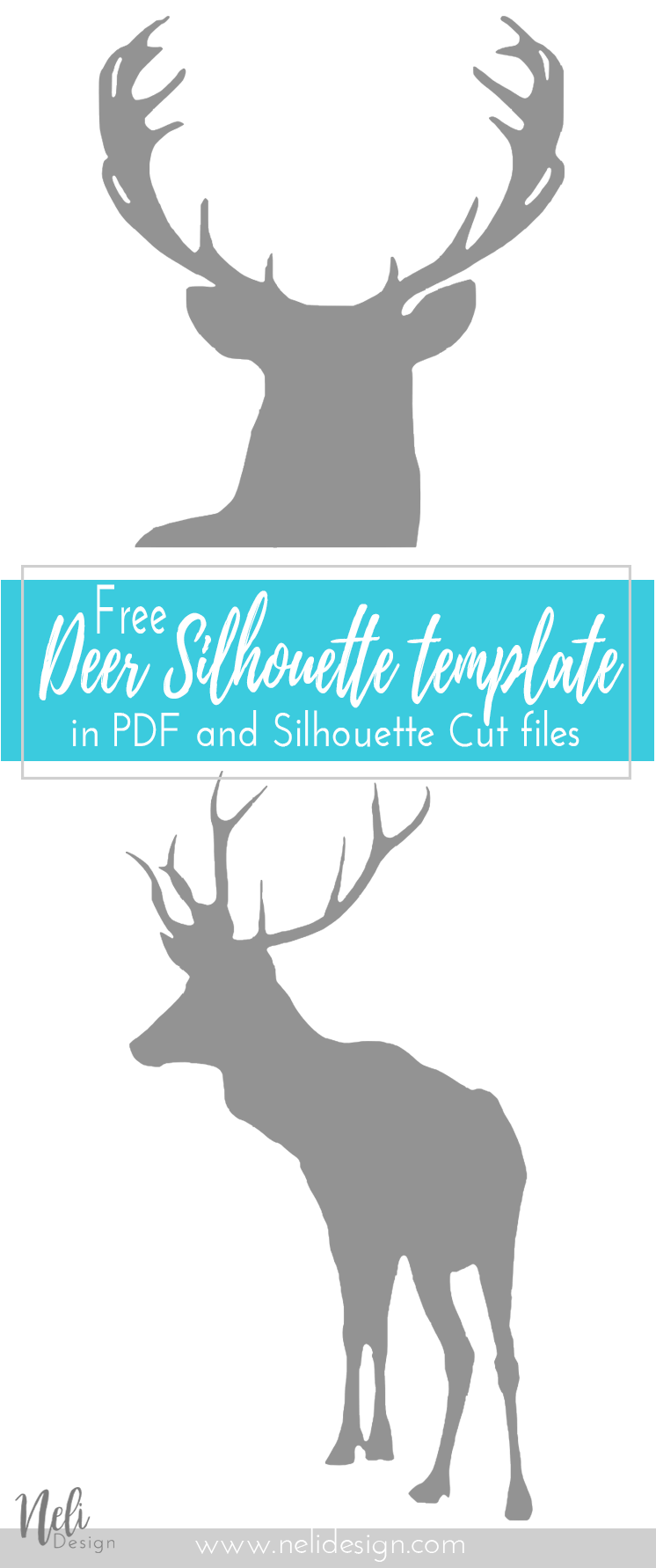 Deer clipart mother's day. Free art printable and