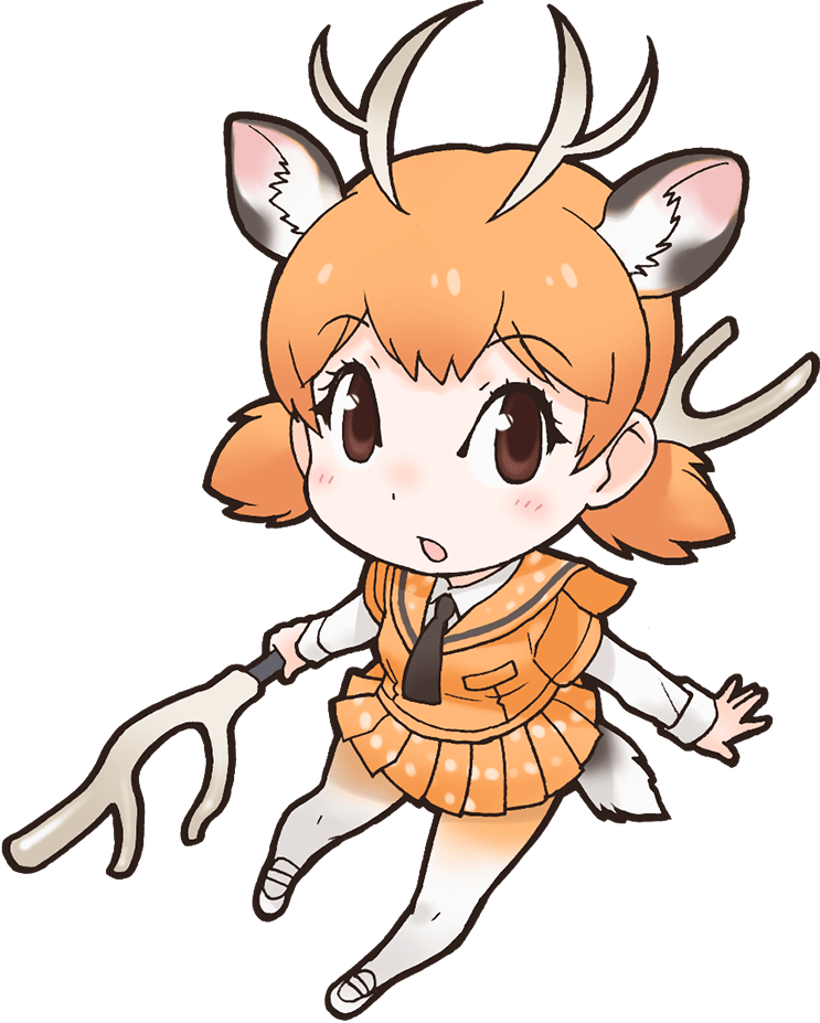 Japari library the kemono. Deer clipart sika deer
