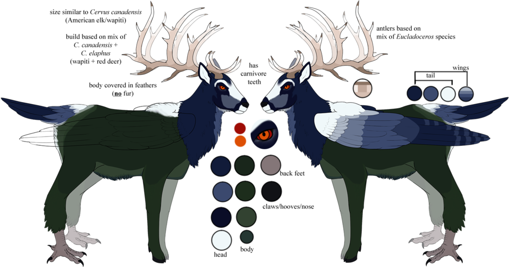 Tef reference dardaptos by. Feet clipart reindeer