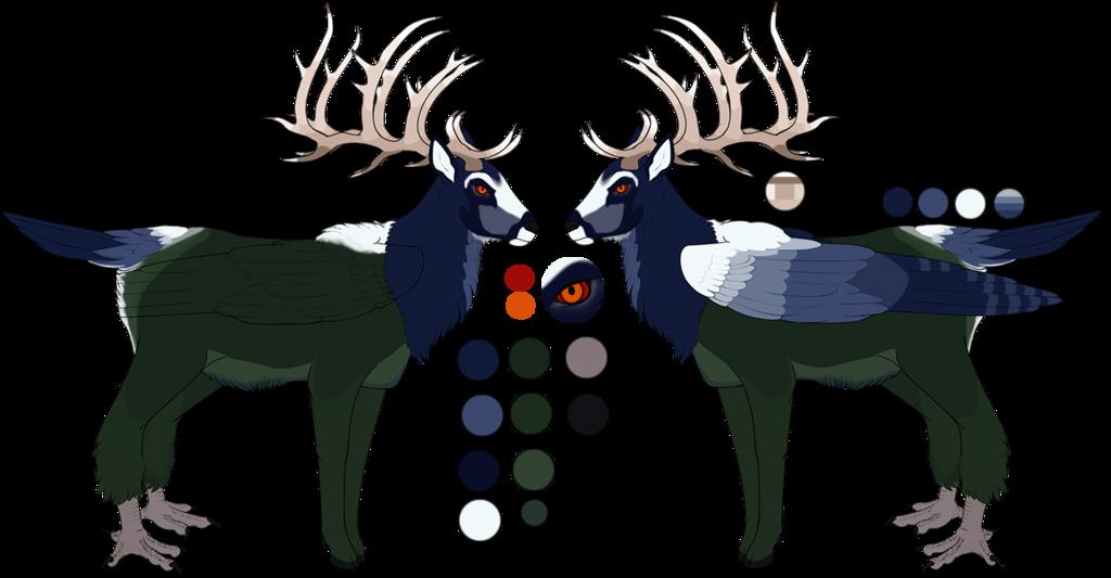 Deer clipart wapiti. Tef reference dardaptos by