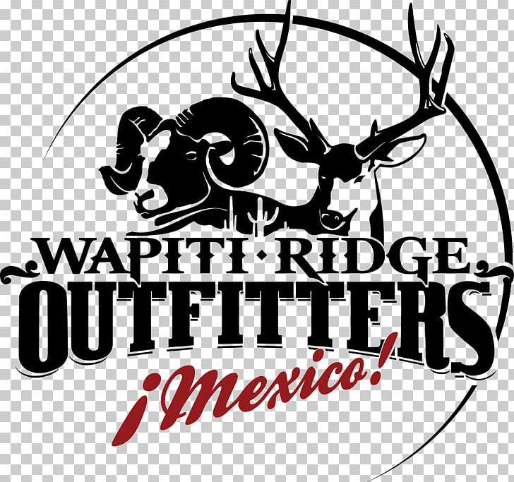 Reindeer ridge hunting mule. Deer clipart wapiti