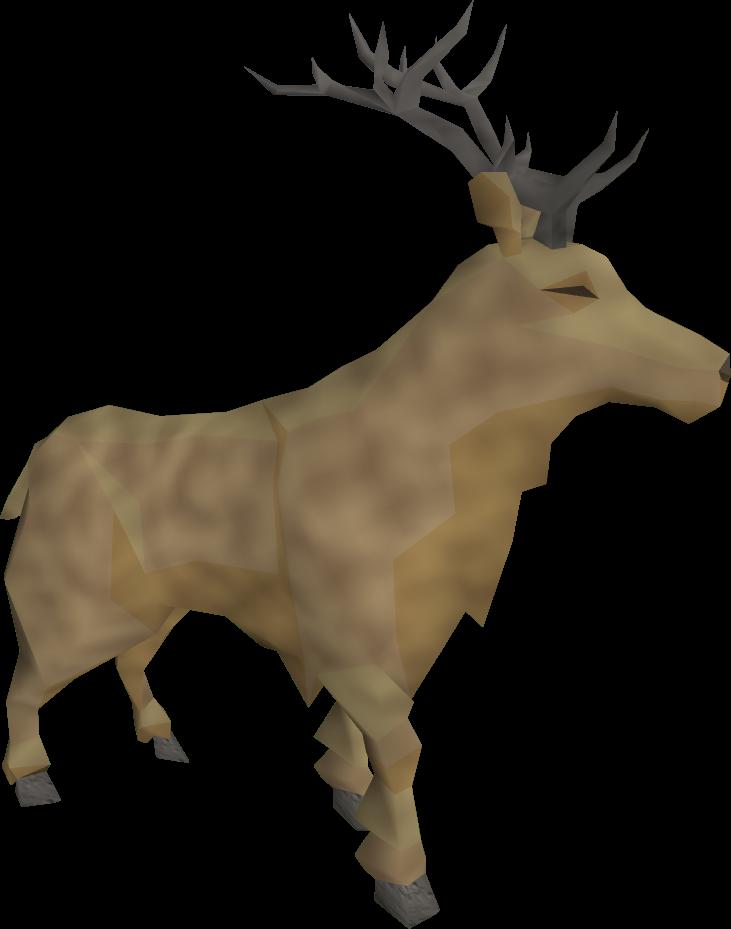 Stag runescape wiki fandom. Lumberjack clipart reindeer