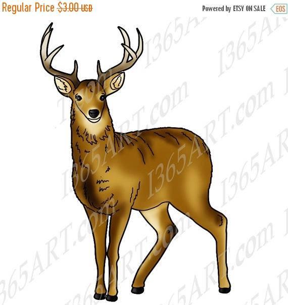Deer clipart.  off clip art