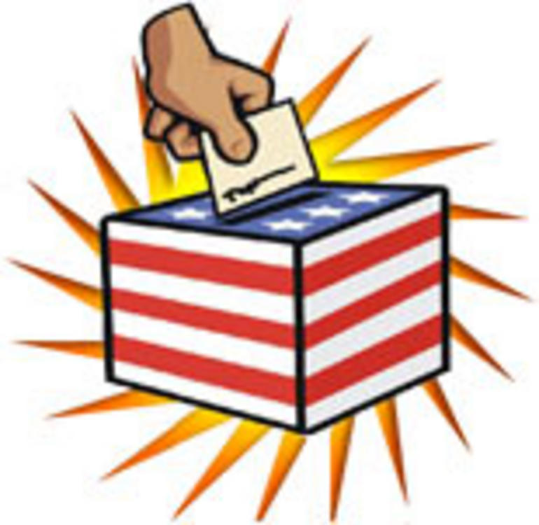 collection of presidential. Voting clipart democratic right