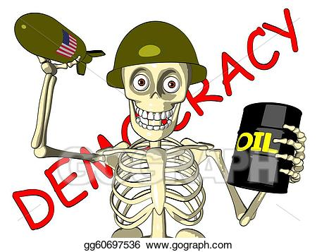 Democracy clipart. Drawing or oil u