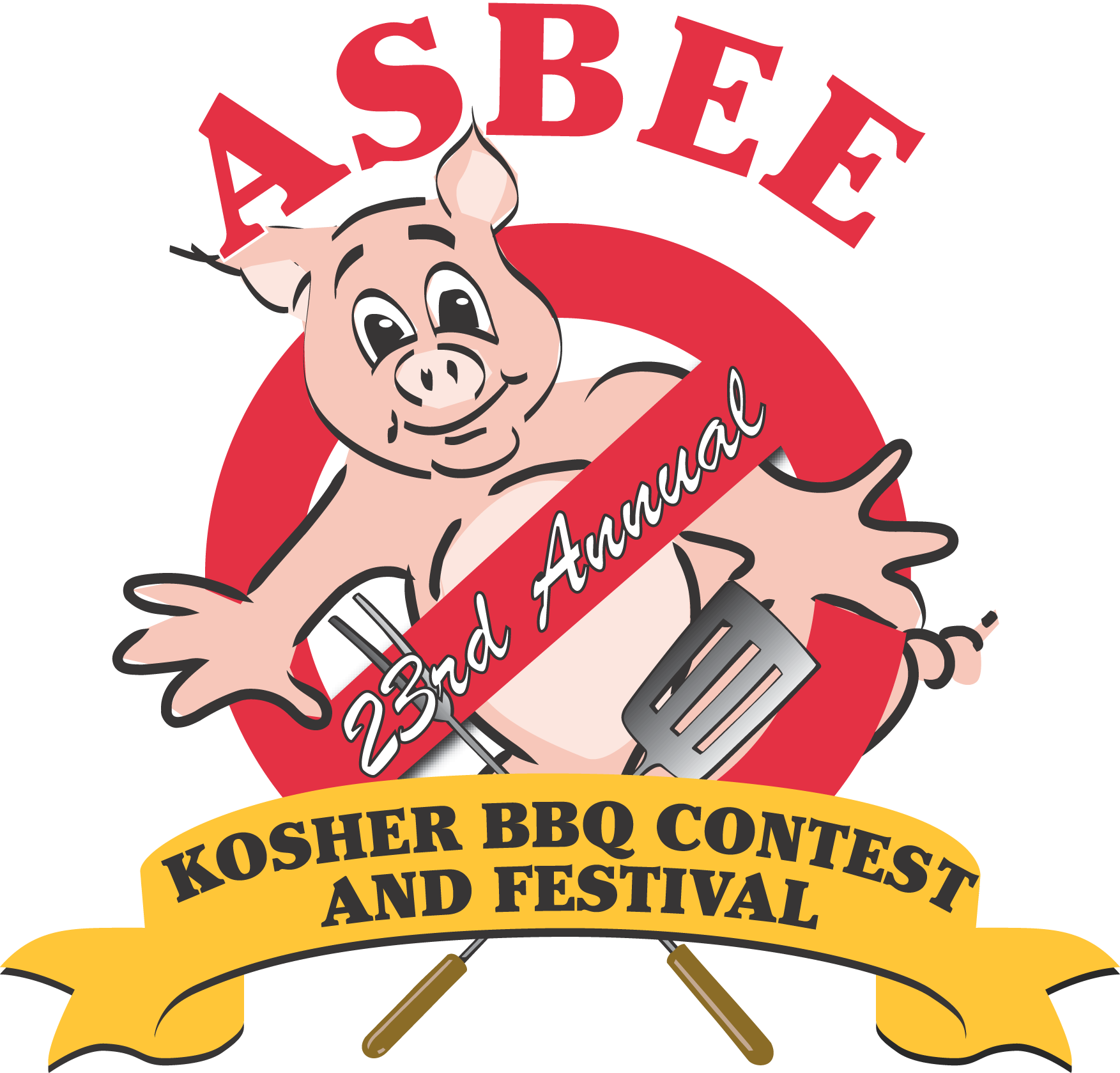 Hog clipart porcine. Competitions bbq jew in