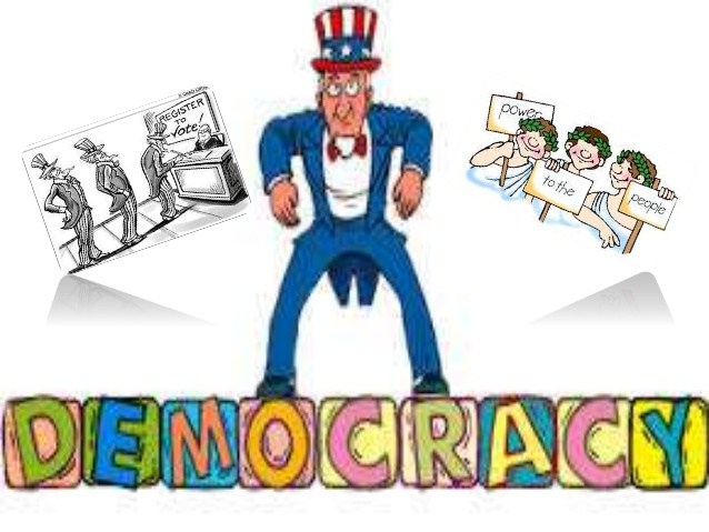 Democracy clipart. Station