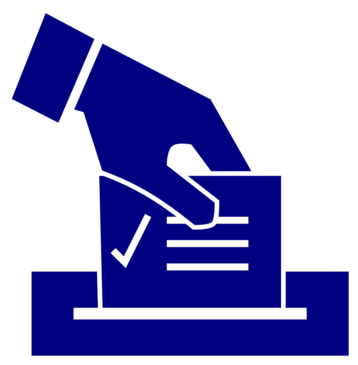 Democracy clipart ballot box. A big day for