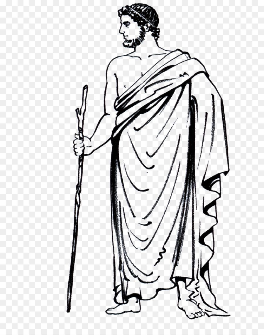 Person cartoon man clothing. Democracy clipart classical