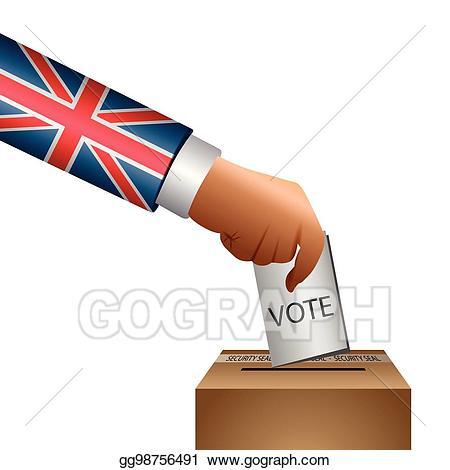 Vector art illustration eps. Democracy clipart election day