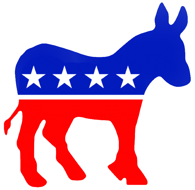 The national convention begins. Voting clipart democratic right