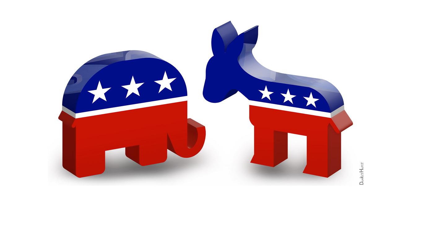 Democracy clipart gop. Free republican party elephant