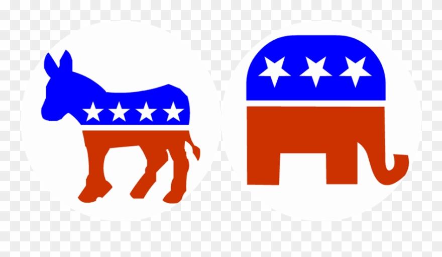 Political election republican and. Democracy clipart gop