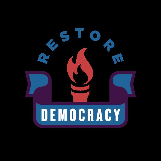 Democracy clipart illustration. Restore maxwell stern