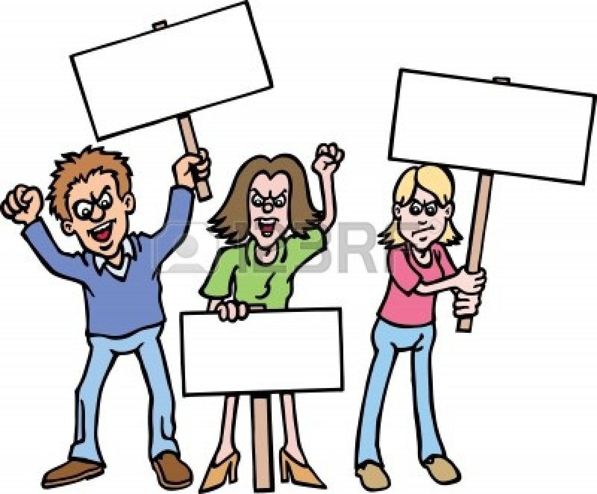 Collection of free download. Democracy clipart kid protest