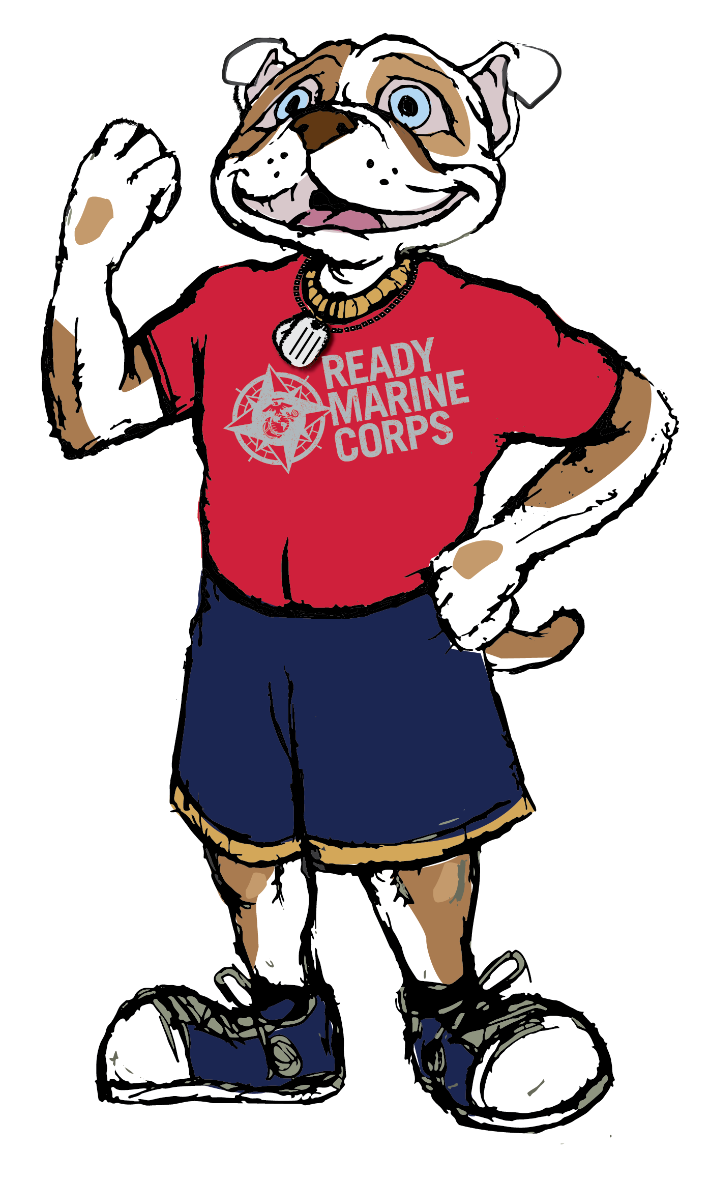 Ready marine corps kids. Democracy clipart kid protest