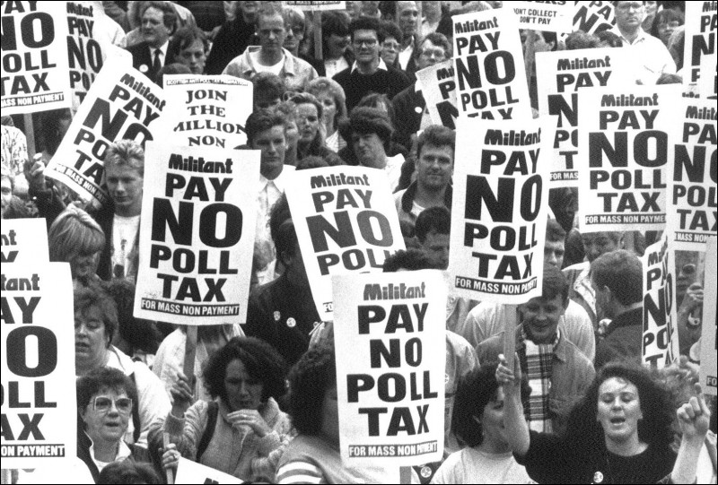 Democracy clipart poll tax. Socialist party march anti