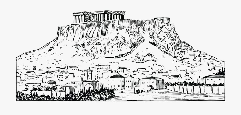 Voting clipart sketch. Democracy drawing greece black